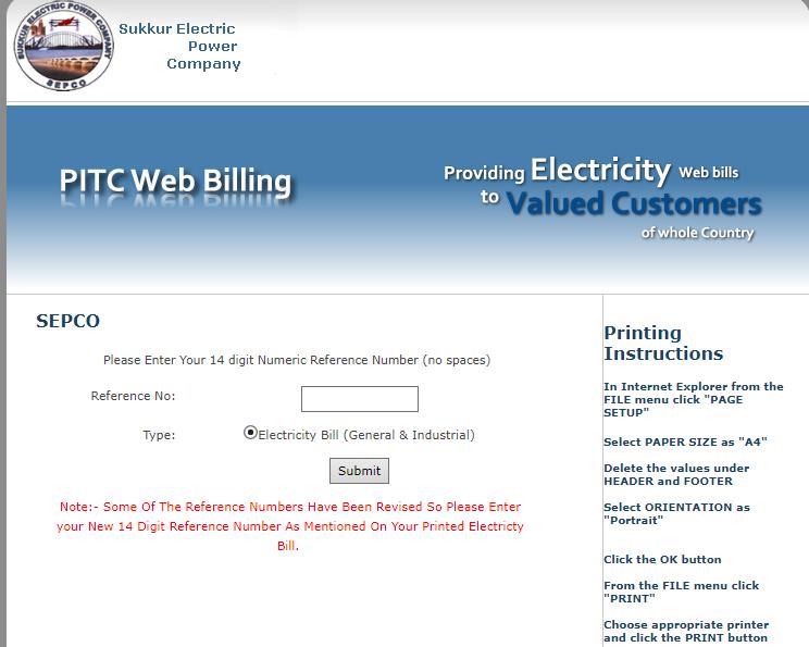 check bill online