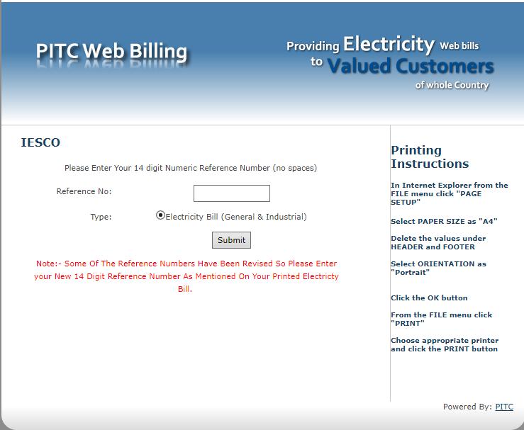 check electricity bill online peshawar