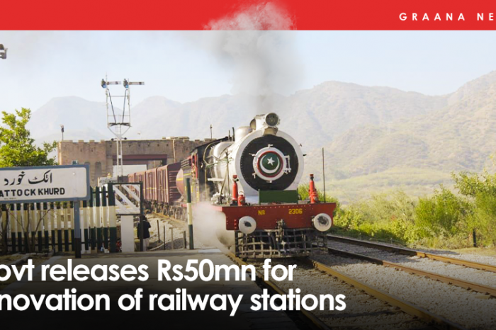 Govt releases Rs50mn for renovation of railway stations