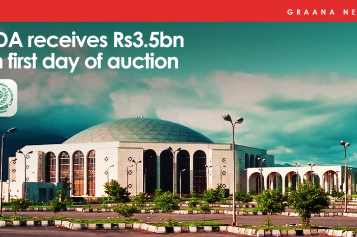 CDA receives Rs3.5bn on first day of auction