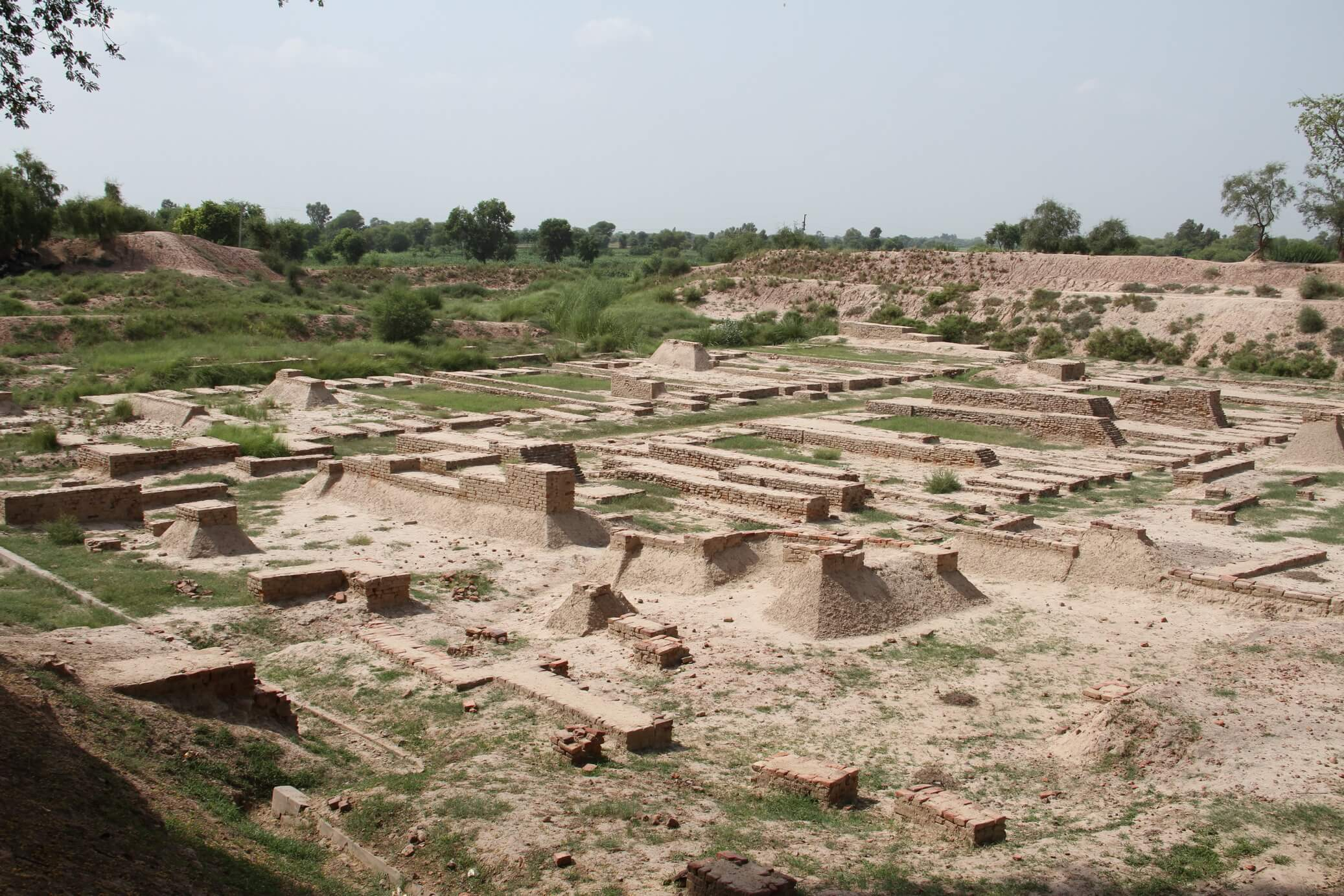Harappa historical place in pakistan