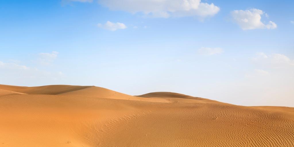 Kharan Desert in pakistan