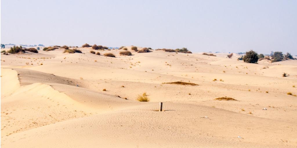 Thal desert in pakistan