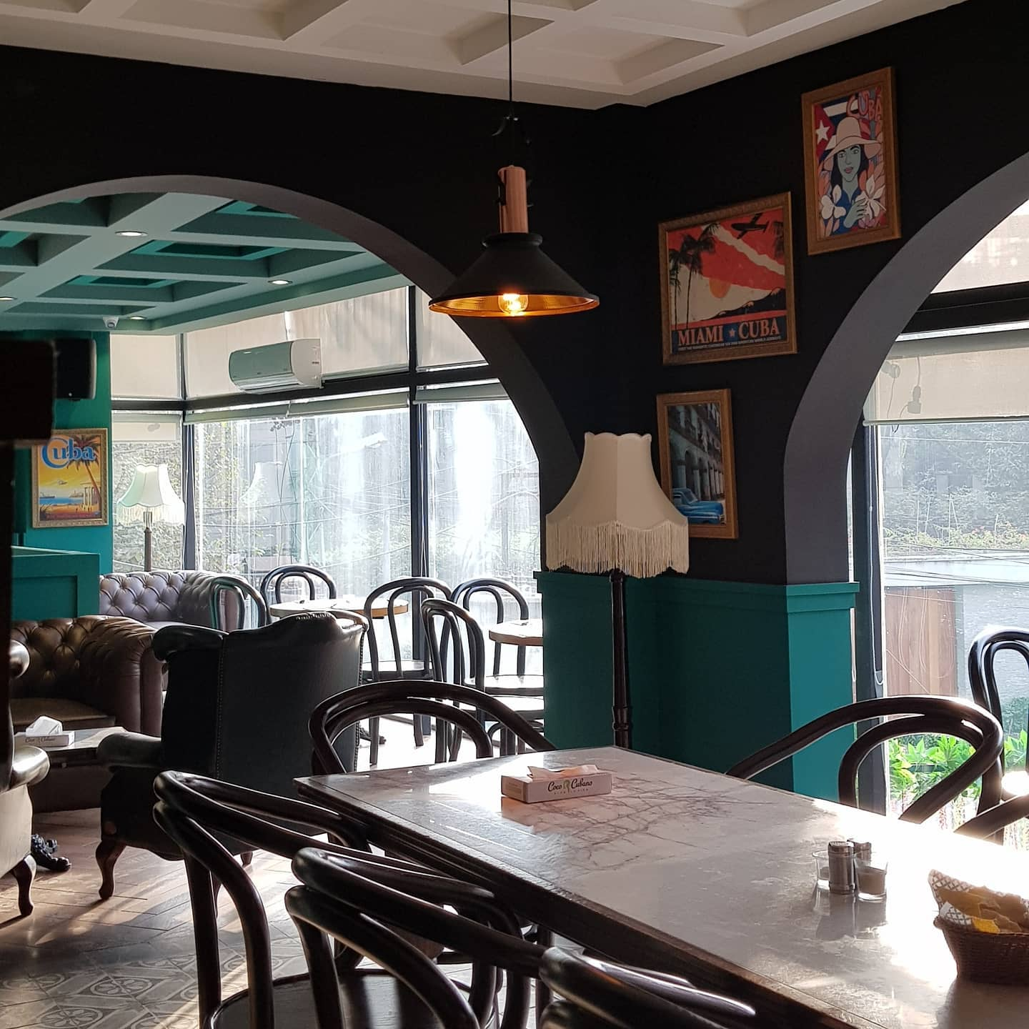 coco cubano cafe in lahore