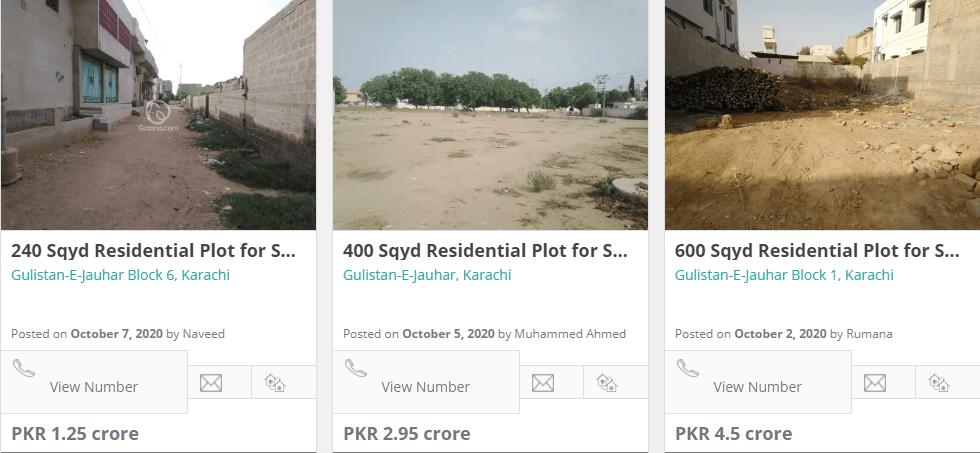 invest in gulistan e jouhar karachi