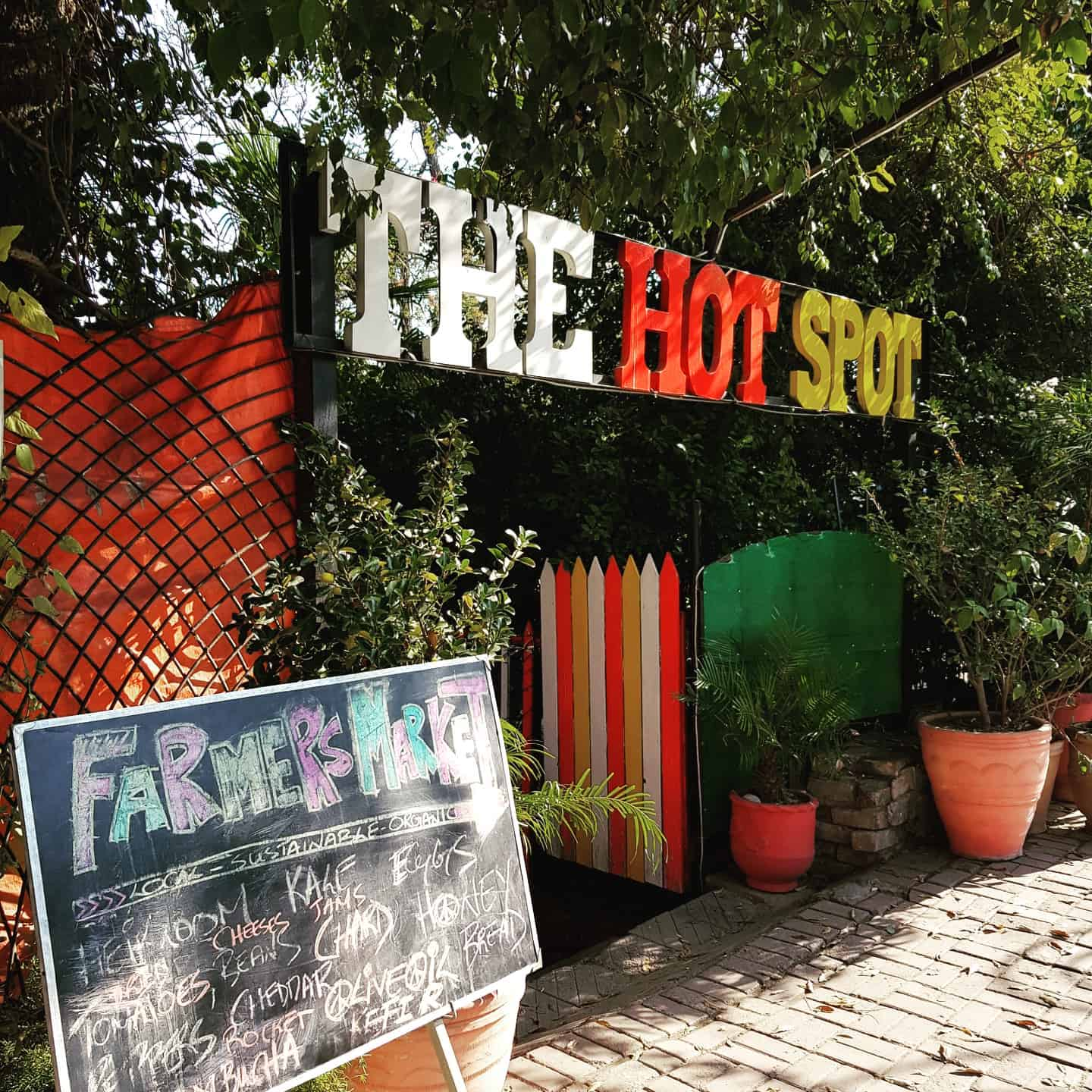 hot spot cafe lahore