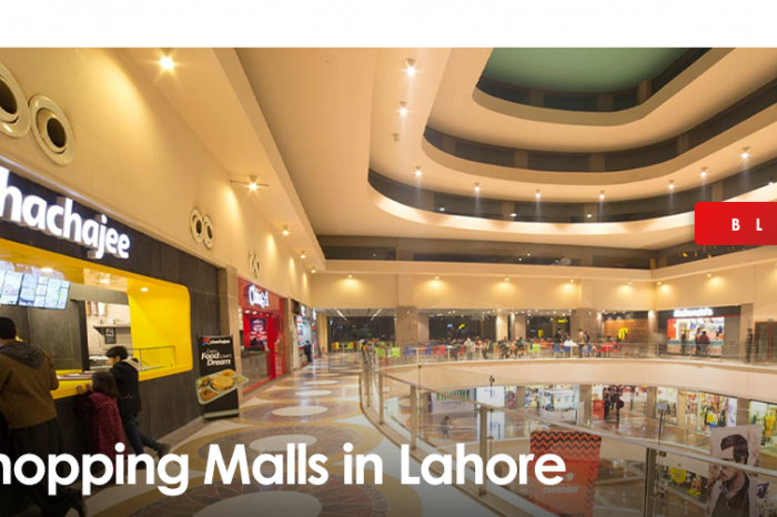Top 6 Shopping Malls in Lahore
