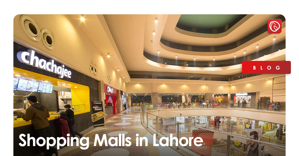 shopping malls in lahore