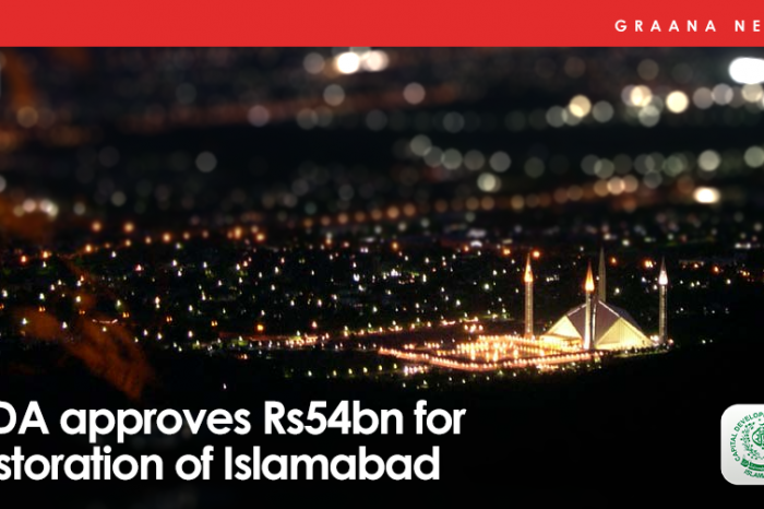 CDA approves Rs54bn for restoration of Islamabad