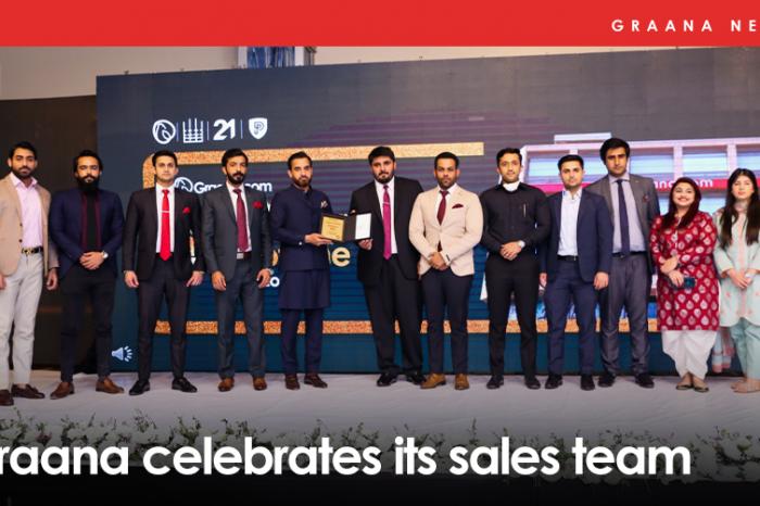 Graana celebrates its sales team