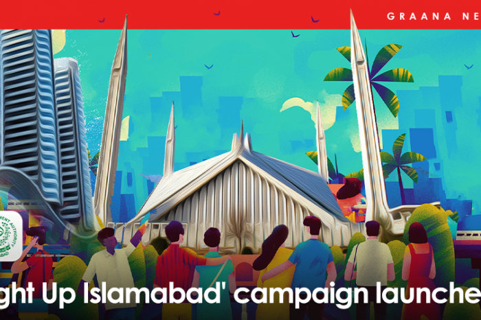 'Light Up Islamabad' campaign launched