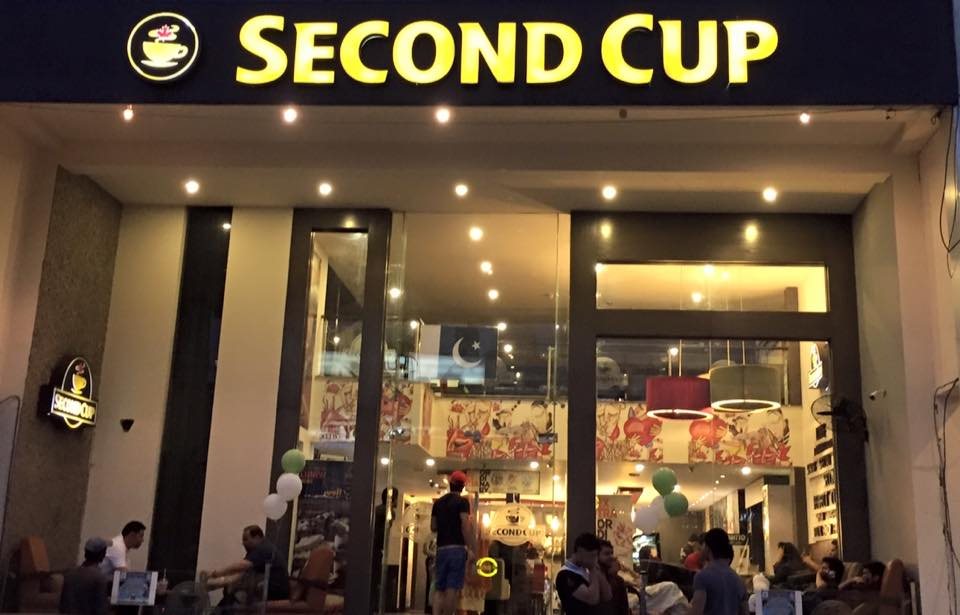 second cup in lahore