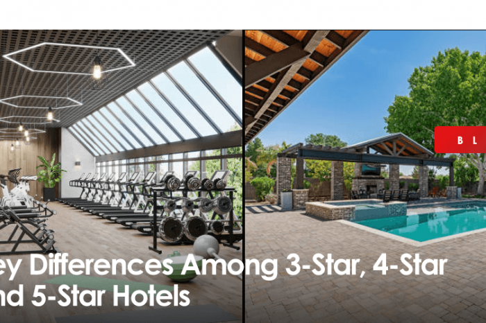 Key Differences Among 3-Star, 4-Star and 5-Star Hotels