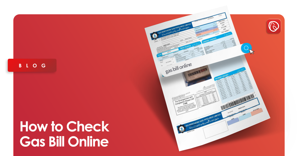 online gas bill check