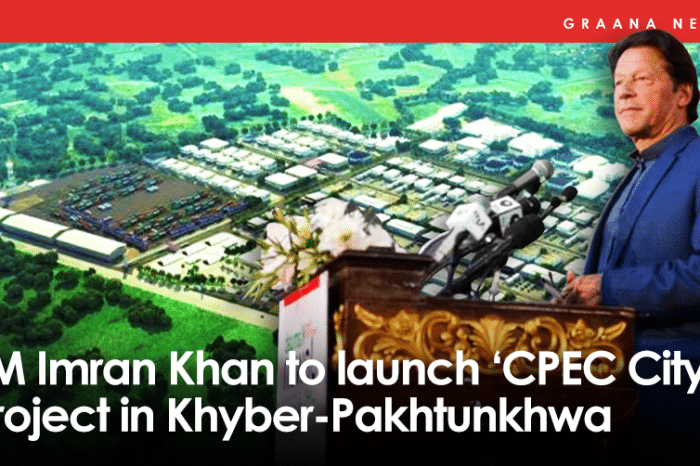 PM Imran Khan to launch 'CPEC City' project in Khyber-Pakhtunkhwa