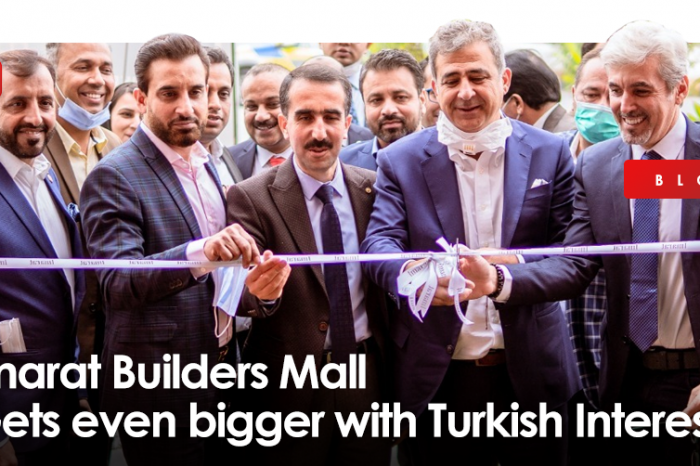 Imarat Builders Mall - Gets even bigger with Turkish Interest