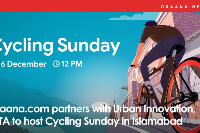 Graana.com partners with Urban Innovation, ICTA to host Cycling Sunday in Islamabad