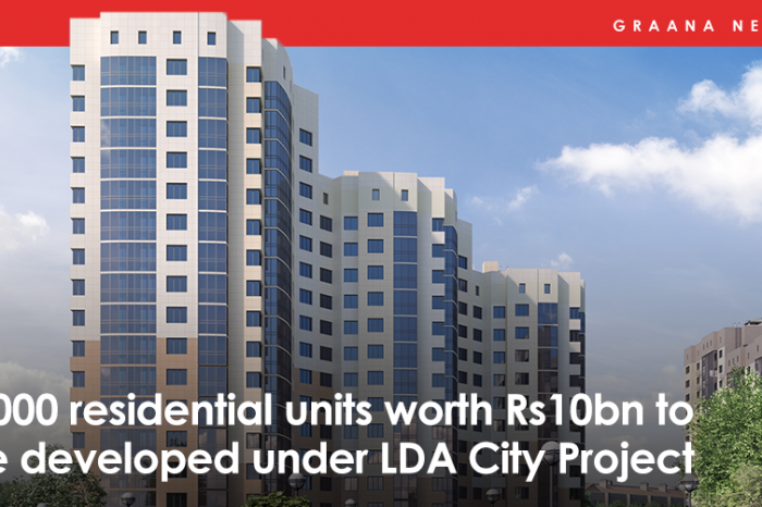 4,000 residential units worth Rs10bn to be developed under LDA City Project
