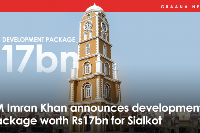 PM Imran Khan announces development package worth Rs17bn for Sialkot