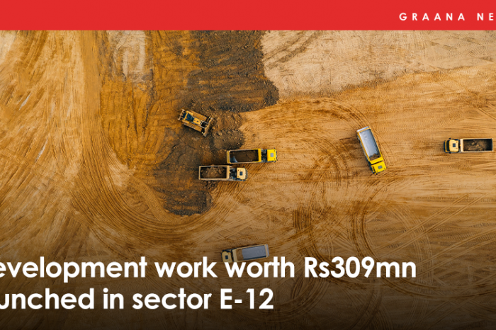 Development work worth Rs309mn launched in sector E-12