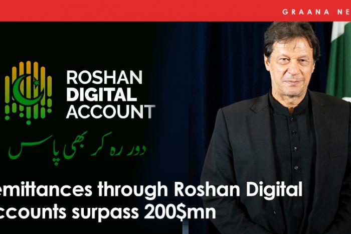 Remittances through Roshan Digital Accounts surpass $200mn