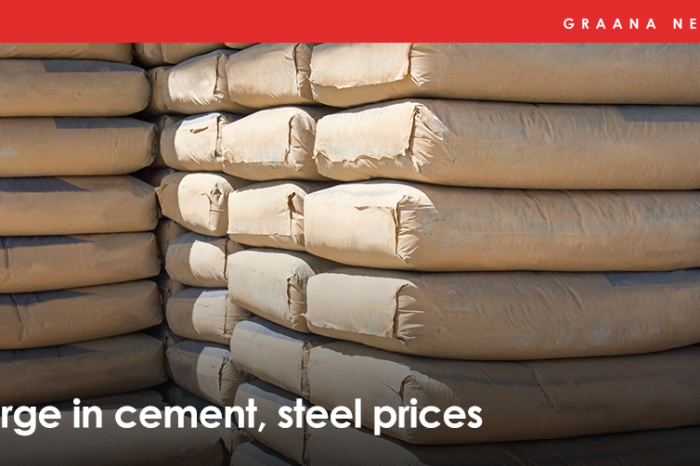 Surge in cement, steel prices