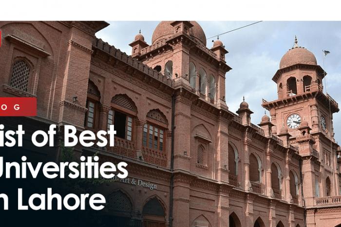 List of Best Universities in Lahore