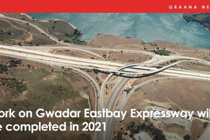 Work on Gwadar Eastbay Expressway will be completed in 2021