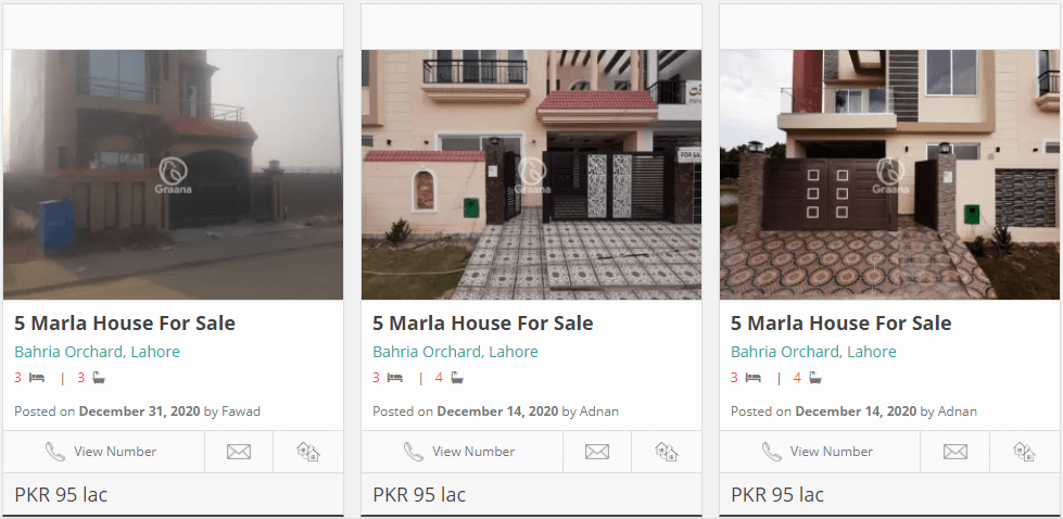 buy a house in lahore