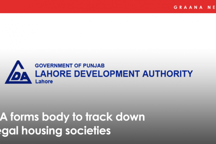 LDA forms body to track down illegal housing societies