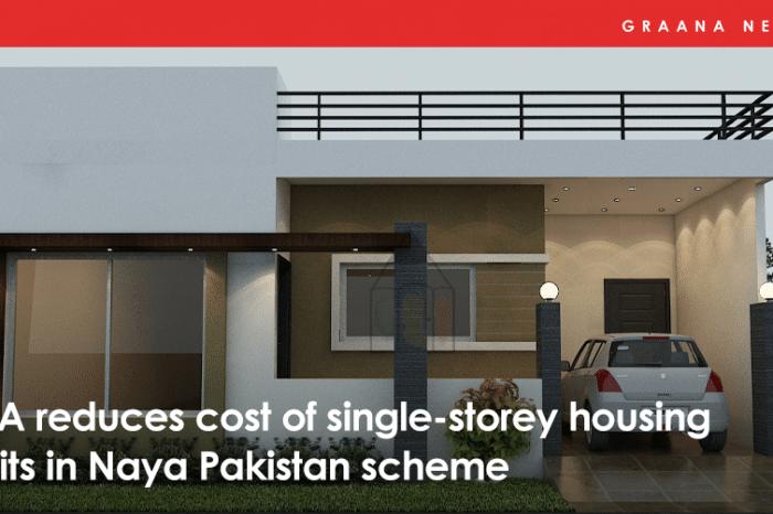 LDA reduces cost of single-storey housing units in Naya Pakistan scheme