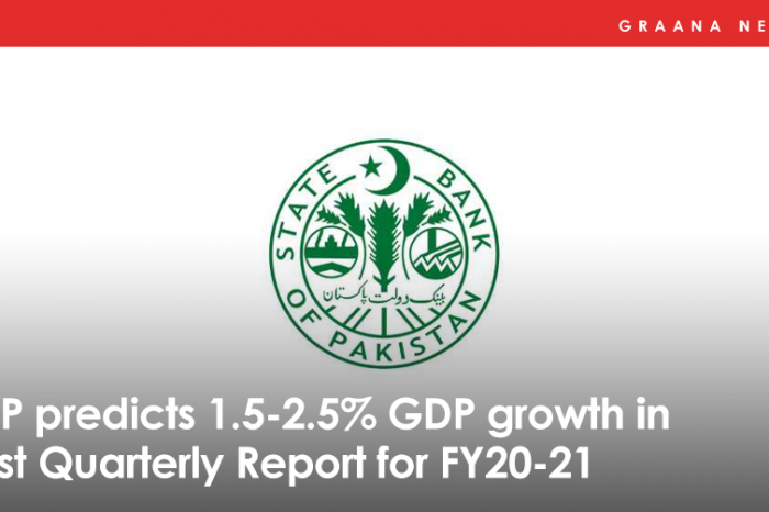 State Bank of Pakistan releases its First Quarterly Report for FY 2020-21