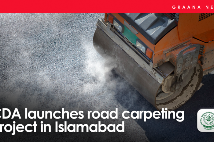 CDA launches road carpeting project in Islamabad