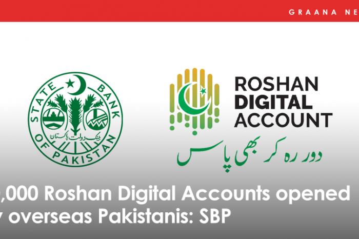 50,000 Roshan Digital Accounts opened by overseas Pakistanis: SBP