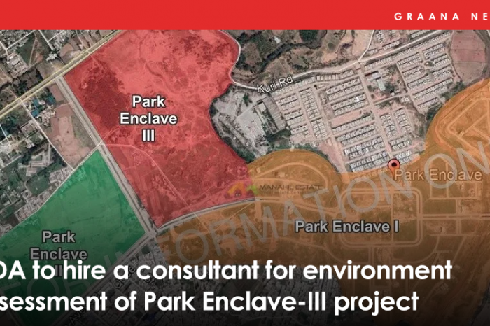 CDA to hire a consultant for environment assessment of Park Enclave-III project