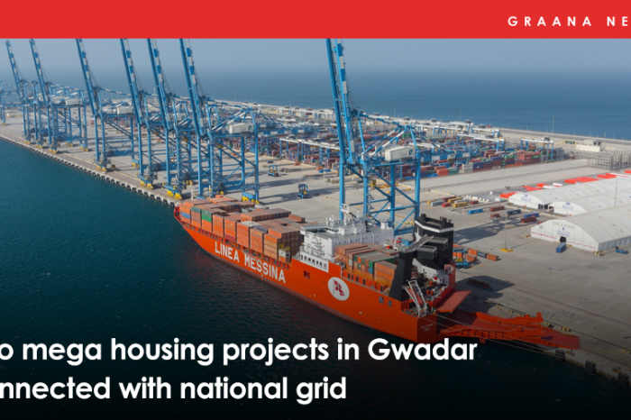 Two mega housing projects in Gwadar connected with national grid