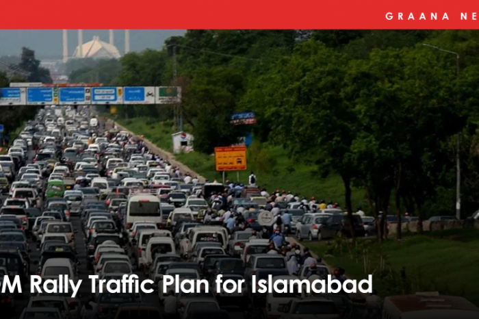 PDM Rally Traffic Plan for Islamabad
