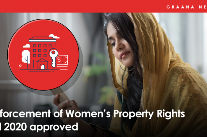 Enforcement of Women's Property Rights Bill 2020 approved