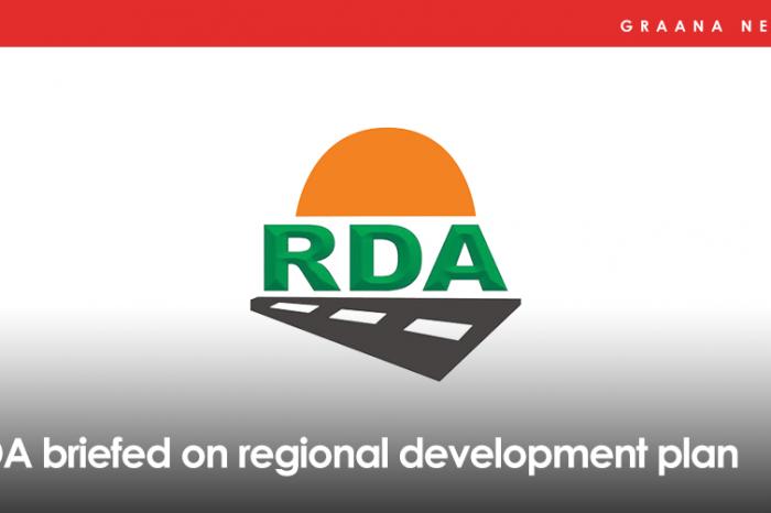 RDA briefed on regional development plan