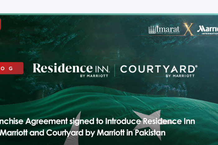 Franchise Agreement signed to Introduce Residence Inn by Marriott and Courtyard by Marriott in Pakistan