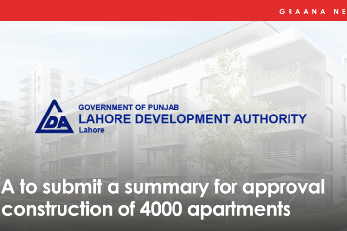 LDA to submit a summary for approval of construction of 4000 apartments