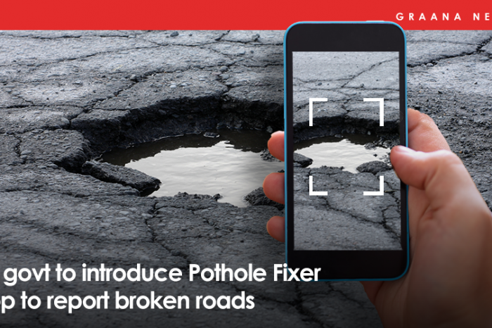 KP government to introduce Pothole Fixer app for reporting broken roads