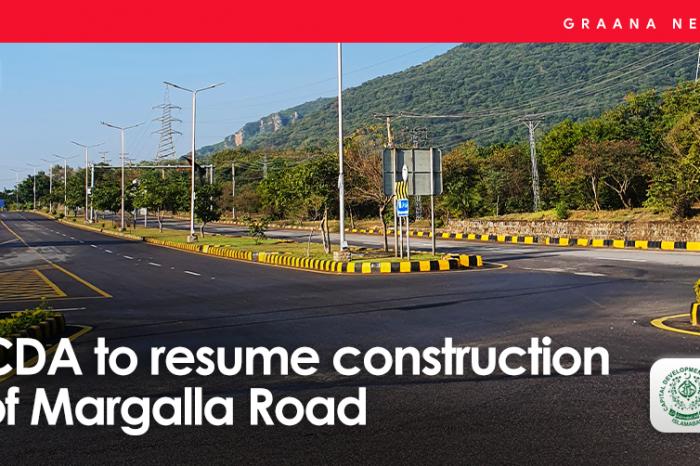 CDA to resume construction of Margalla Road