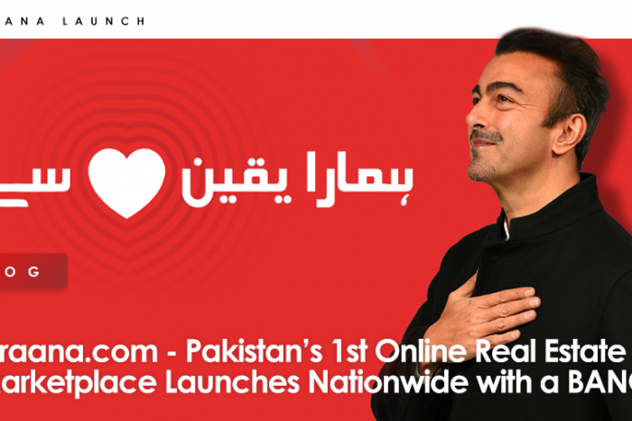 Graana.com - Pakistan's 1st Online Marketplace Launches Nationwide with a BANG