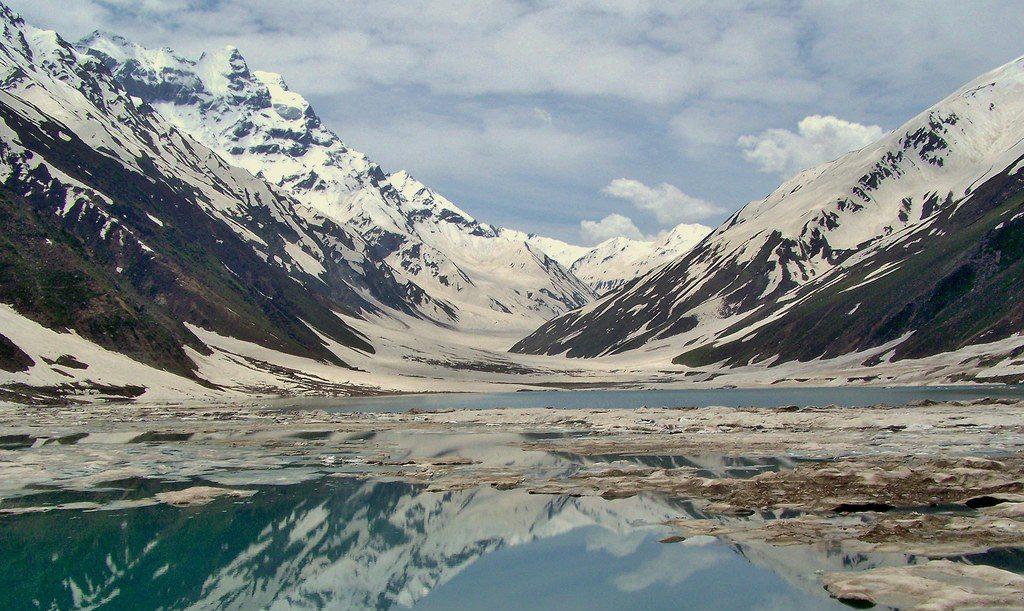 Saiful Muluk Lake in Pakistan
