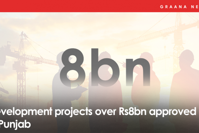 Development projects over Rs8bn approved in Punjab