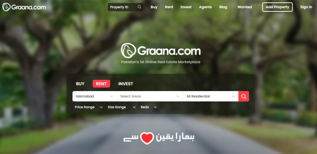 sell property through graana