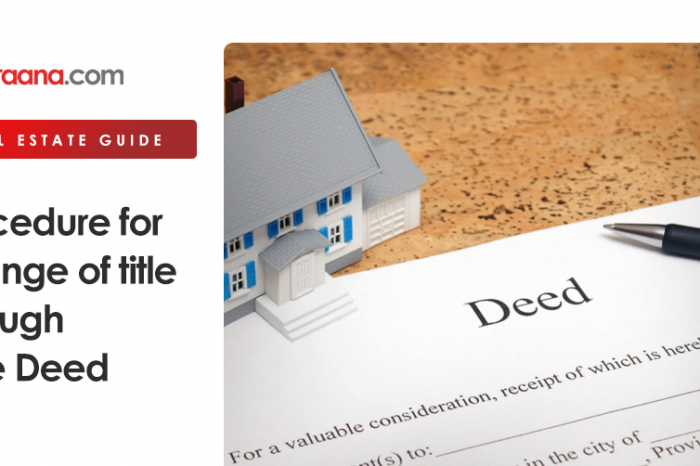 Procedure for Change of Title through Sale Deed