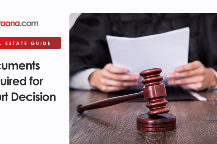 Documents Required for Court Decision