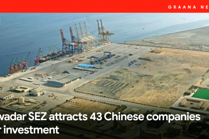 Gwadar SEZ attracts 43 Chinese companies for investment